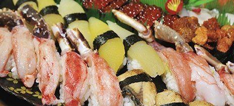 vassoio di sushi
