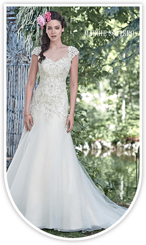 bridal wear with perfect fitting