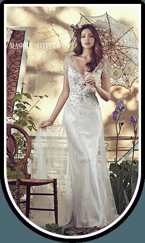 gorgeous bridal wear