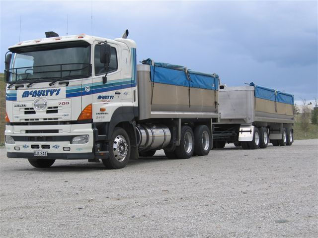 Cartage services available across Otago and beyond