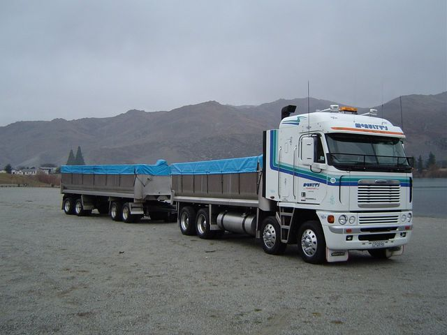 Providing freight haulage to Otago and beyond
