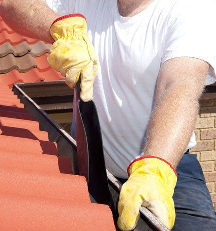Superior gutter cleaning