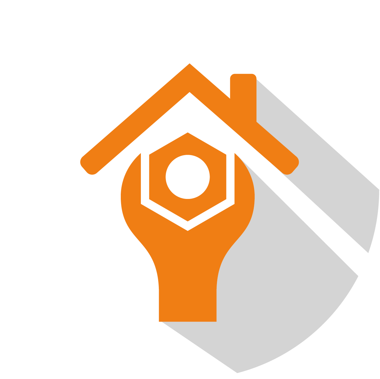 Roof repair icon