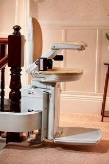 Factory Reconditioned Brooks 180 T565 Curved stairlift