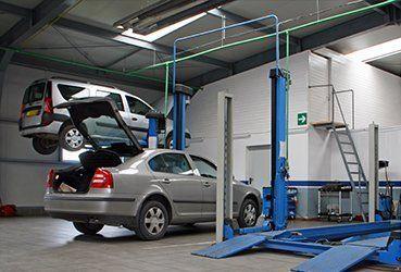 Car tyre repairs
