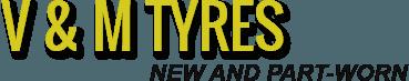 V & M Tyres logo