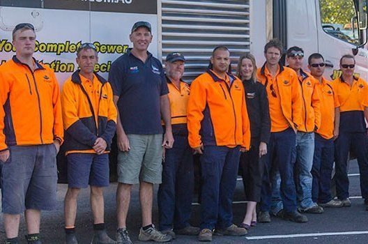 team of our plumbing experts in Hobart