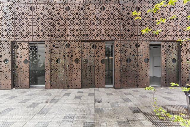 Museo de Arte Moderno Fachadas metálicas