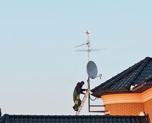 Installazione antenne e parabole a Foligno e dintorni