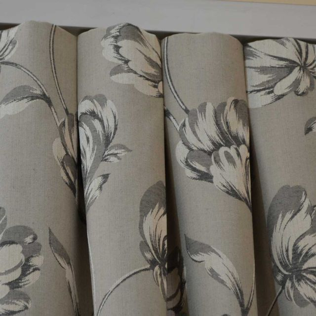 box pleat curtains