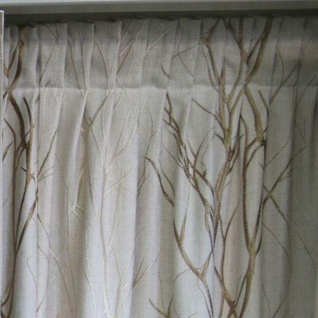 knife pleat curtains