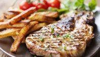 carne alla griglia, braciole, grigliata di carne