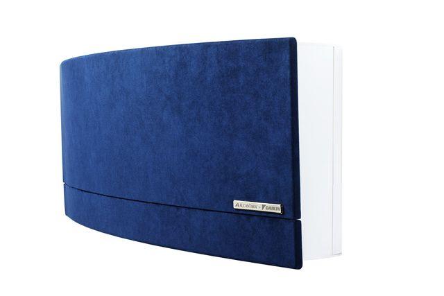climatizzatore ancantara blu