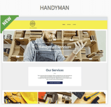 Handyman Website Templates