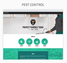 Pest Control Website Templates
