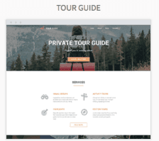 Tour Guide Website Templates