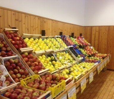 frutta secca e frutta fresca