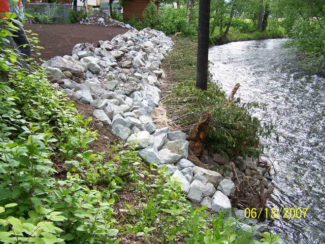 Example of our landscaping work in Anchorage