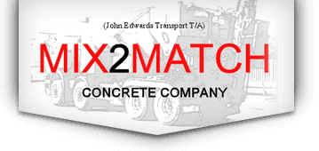 Mix 2 Match Concrete Company logo