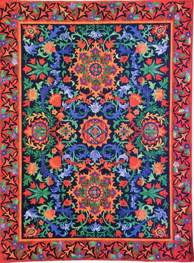 Arabesque Quilt by Suzanne Marshall, a Quilt Maker
