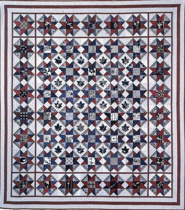Arigato Quilt by Suzanne Marshall, a Quilt Maker