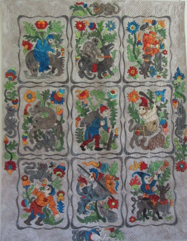 Book of Hours by Suzanne Marshall, a Quilt Maker