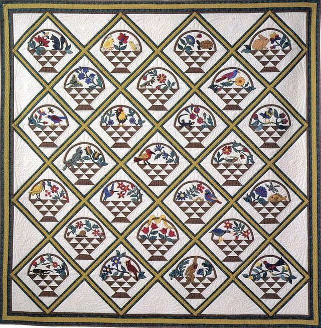 Bountiful Baskets by Suzanne Marshall, a Quilt Maker