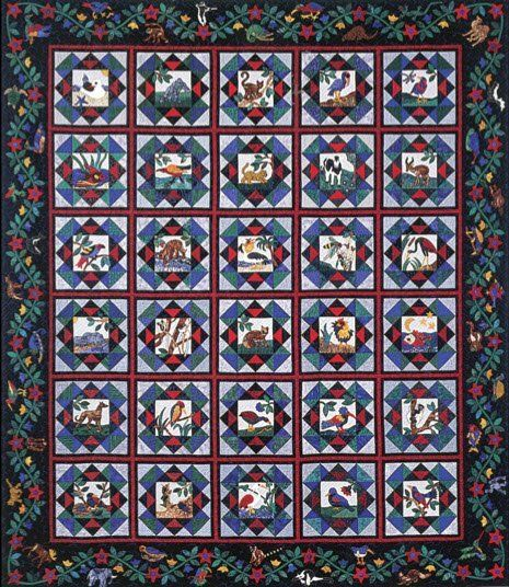 Earth Watch Quilt by Suzanne Marshall, a Quilt Maker