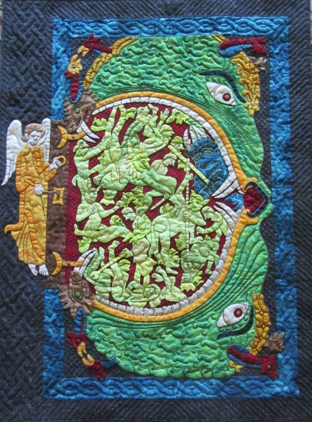 Hellmouth by Suzanne Marshall, a Quilt Maker