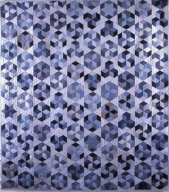 Hexagonal Star Quilt by Suzanne Marshall, a Quilt Maker