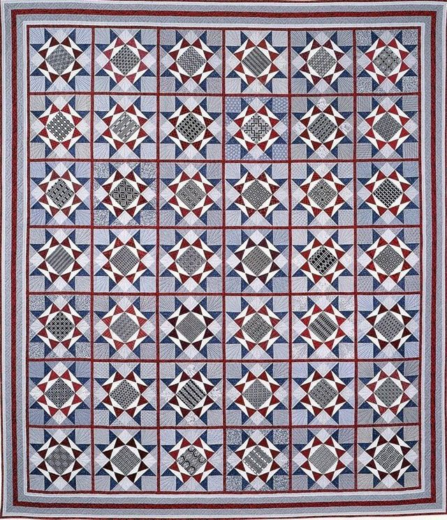 Konnichiwa Quilt by Suzanne Marshall, a Quilt Maker