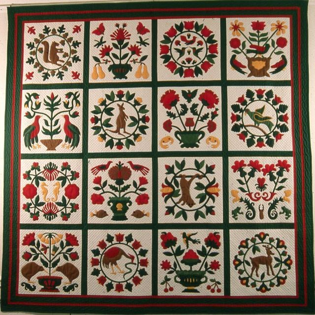 Marshall Menagerie Quilt by Suzanne Marshall