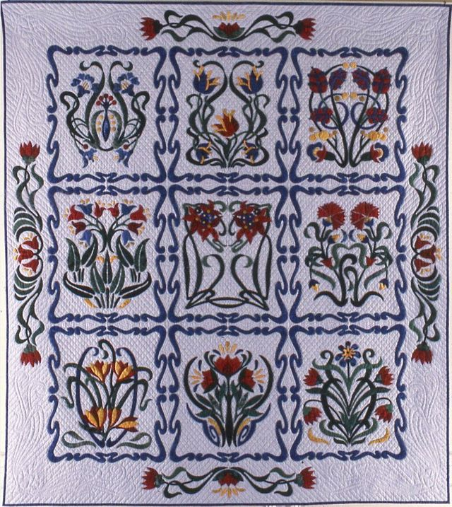 Rhapsody in Bloom by Suzanne Marshall, a Quilt Maker