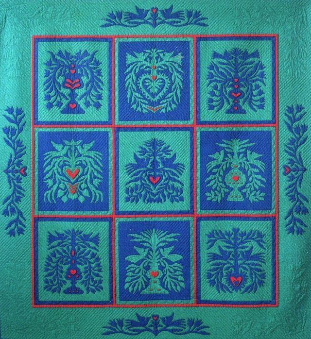 Scherrenschnittee Quilt by Suzanne Marshall, a Quilt Maker