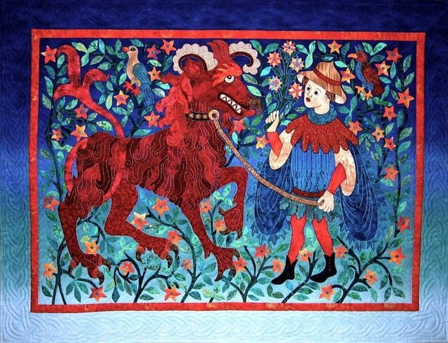 The Beast and His Boy by Suzanne Marshall, a Quilt Maker