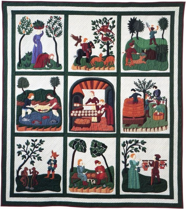 The Soul of Medieval Italy by Suzanne Marshall, a Quilt Maker