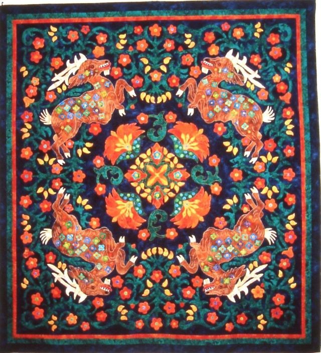 The Tang Tango by Suzanne Marshall, a Quilt Maker