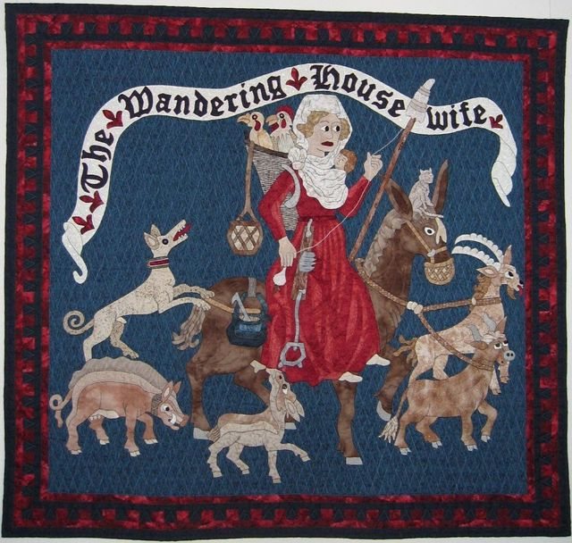 The Wandering Housewife Quilt by Suzanne Marshall