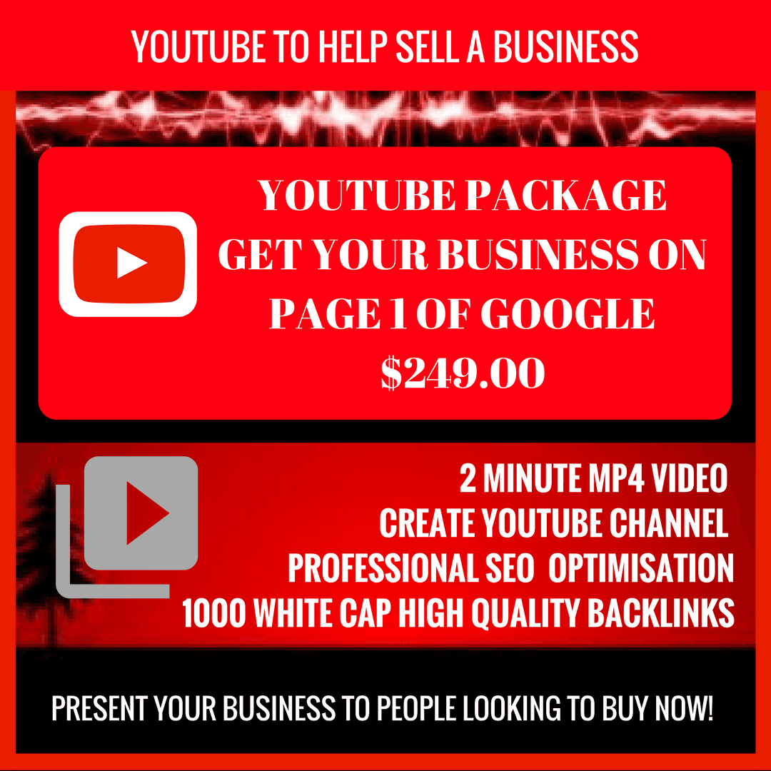 Youtube Videos To Sell A Business