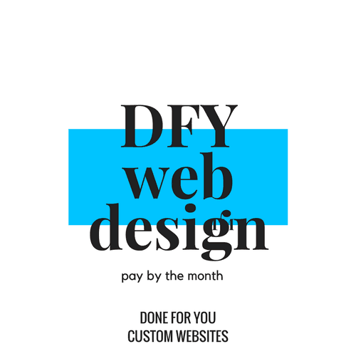 DFY Pay By Month Websites