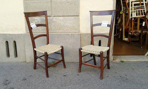 impagliatura e restauro sedie firenze impagliatura