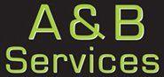 A.B Services logo