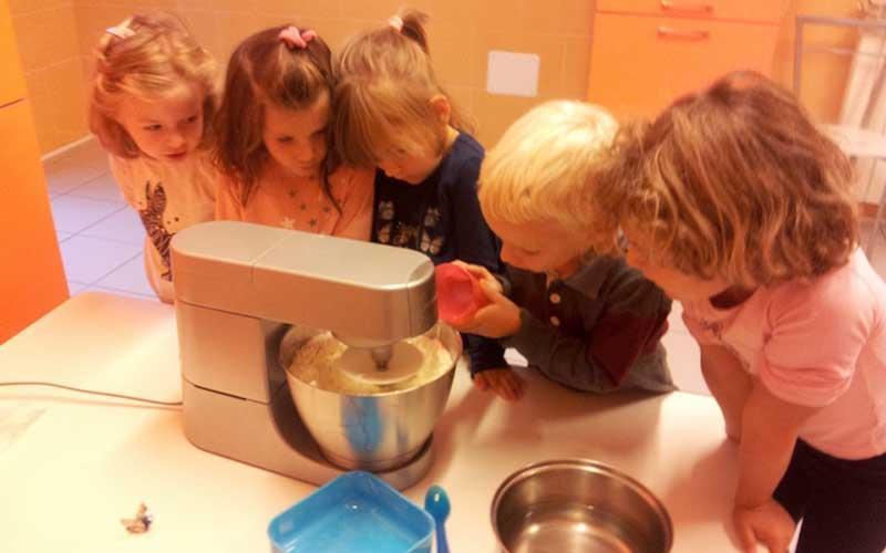 Laboratorio di cucina