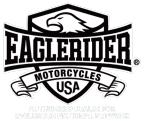 The EagleRider Motorcycles USA logo on the Header
