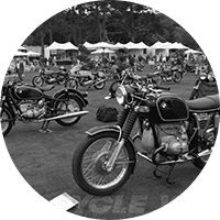 Southern Rider's fleet of motorcycles in Carmel, Big Sur, Santa Cruz