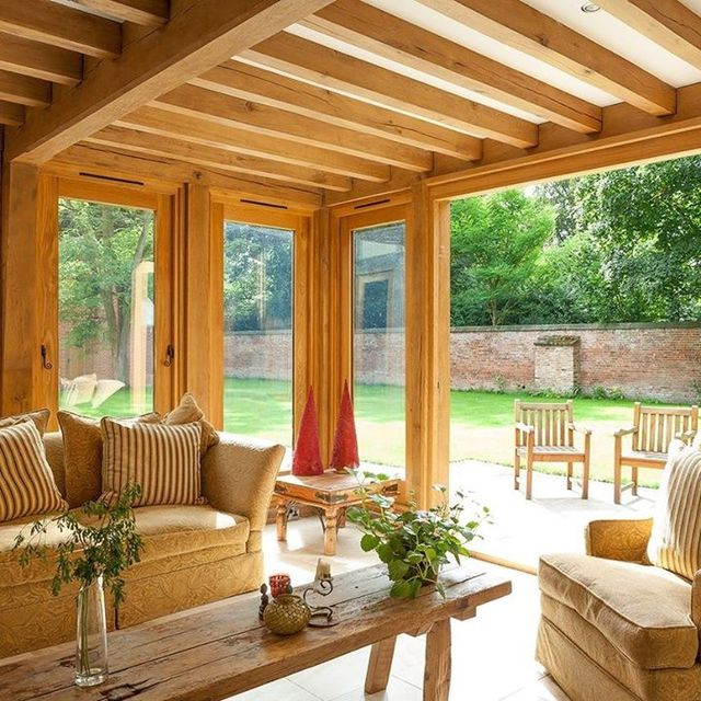 Oak framed orangeries