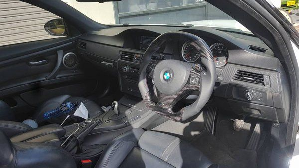 inside of bmw