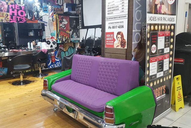 custom car trunk sofa