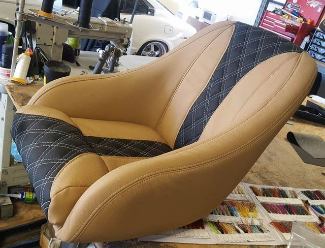 A commercial furniture upholstery project in Sydney