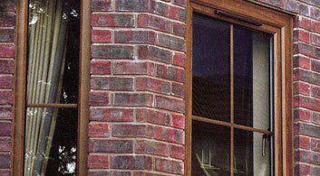 wood effect double glazed windows